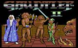Gauntlet II Commodore 64 Title screen