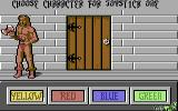 Gauntlet II Commodore 64 Choose a character