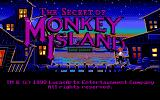 The Secret of Monkey Island (Demo Version) DOS Title screen