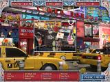 Big City Adventure: New York City Windows Inside the taxi car.