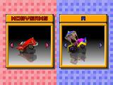 Motor Toon Grand Prix PlayStation Car selection