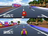Motor Toon Grand Prix PlayStation Rock Playspot track