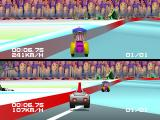 Motor Toon Grand Prix PlayStation Penguin Kingdom track