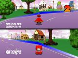 Motor Toon Grand Prix PlayStation Princess Village track