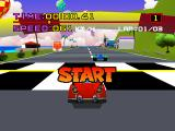 Motor Toon Grand Prix PlayStation Race start