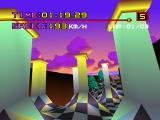 Motor Toon Grand Prix PlayStation Columns