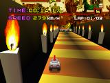 Motor Toon Grand Prix PlayStation Candles