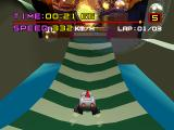 Motor Toon Grand Prix PlayStation Soap bubbles