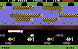 Frogger Commodore 64 The frog is crossing the road...