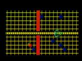 TRON: Solar Sailer Intellivision Sector boundary red line