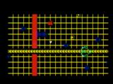 TRON: Solar Sailer Intellivision Firing on tanks near sector border - beam power low