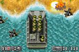 Medal of Honor: Infiltrator Game Boy Advance Storming the beach.
