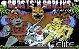 Ghosts 'N Goblins Commodore 64 Title screen