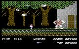 Ghosts 'N Goblins Commodore 64 A large boss blocking the door