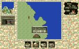 "Lunatic Dawn II PC-98 World map navigation uses this interesting ""measuring"" interface"