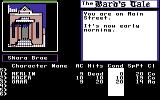 Tales of the Unknown: Volume I - The Bard's Tale Commodore 64 You are on Main Street