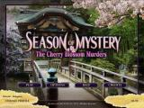 Season of Mystery: The Cherry Blossom Murders Windows Main menu