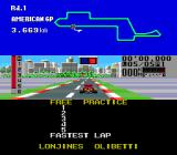 F1 Triple Battle Genesis At the starting line