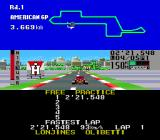 F1 Triple Battle Genesis A lap completed