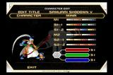 Samurai Shodown: Anthology PlayStation 2 Color editing is available for every character in the first five games.