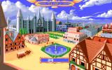 Slayers PC-98 The beautiful city of Welnan.