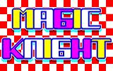 Magic Knight PC-98 Title screen