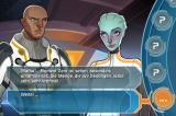 Mass Effect: Galaxy iPhone No, there's no sex-scene in this game. Sorry.