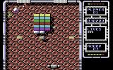 Arkanoid: Revenge of DOH Commodore 64 A game in progress