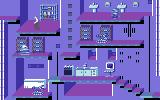 Impossible Mission II Commodore 64 One of the many rooms to explore