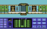 Impossible Mission II Commodore 64 A locked door leading to the next tower