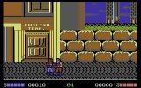 Double Dragon Commodore 64 The first fight of a new game