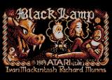 Black Lamp Atari 8-bit Loading screen