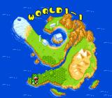 Wani Wani World Genesis The map of Wani Wani World.