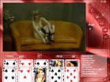 Strip Poker Exclusive 2 Windows Alice is undressing (in Polish)