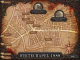 Real Crimes: Jack the Ripper Windows Locations at the Whitechapel map