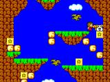 Alex Kidd in Miracle World SEGA Master System Alex Kidd breaks blocks with powerful punches.