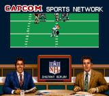 Capcom's MVP Football SNES Big plays are replayed at half time
