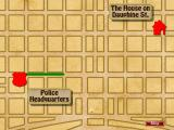 Cajun Cop: The French Quarter Caper Windows Map