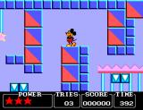 Castle of Illusion starring Mickey Mouse SEGA Master System Graphics are really nice.