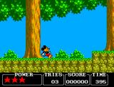 Castle of Illusion starring Mickey Mouse SEGA Master System The game is full of very colorful scenes.