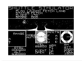 Shuttle Simulator TRS-80 CoCo Opening cargo bay