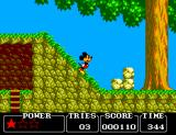 Castle of Illusion starring Mickey Mouse SEGA Master System Animation is very good. Look at Mickey's expression when he's inclined.