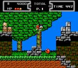 Disney's DuckTales NES Scrooge jumping. Graphics are great!