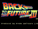Back to the Future Part III SEGA Master System Title Screen