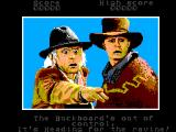Back to the Future Part III SEGA Master System Level 1 Intro