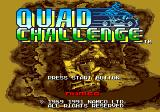 Quad Challenge Genesis English title screen.