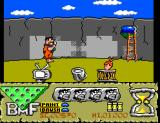 The Flintstones SEGA Master System Painting the Wall