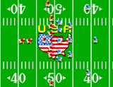 Great Football SEGA Master System Field