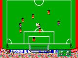 Great Soccer SEGA Master System Ball has been kicked into the air.