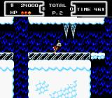 Disney's DuckTales NES It's slippery!